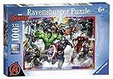 Ravensburger Italy 10771 - Puzzle per Bambini Avengers, 100 Pezzi