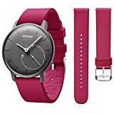 Hanlesi Bracelet Compatible Withings Acier HR, Withings Activite Pop Doux Silicone...