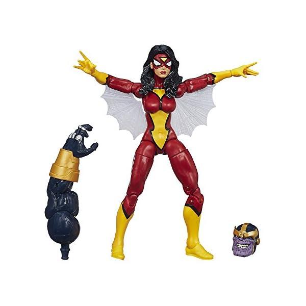 Marvel Legends Infinito Fighters Fierce Spider-Woman Figura 15cm acción - Vengadores: La era de Ultrón 1