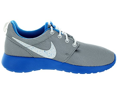 Nike Unisex, bambini Nike RosheRun (GS) Scarpe da Ginnastica Basse Grigio (Gris / Azul)