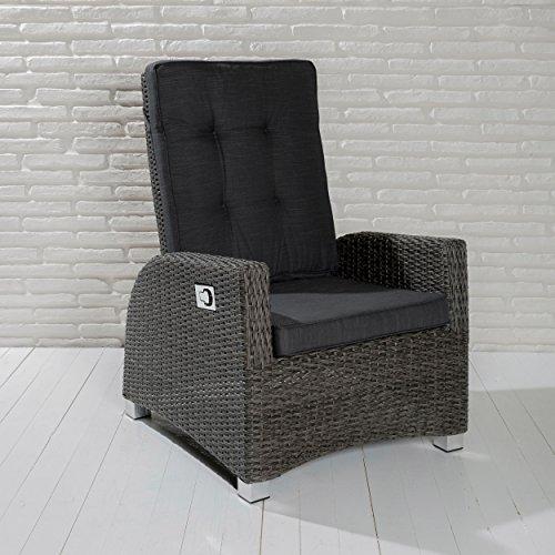Wholesaler GmbH Barcelona Living Gartensessel XL Sessel Für Den Garten Oder  Terrasse   Gartenmöbel Rocking Chair