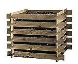 Compost Kit en bois 100x100x70cm...