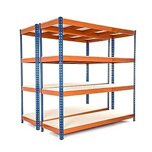 tarifas envios internacionales: Racking Solutions - MEGA DEAL - 2 unidades de estantería / Estante del garaje de...