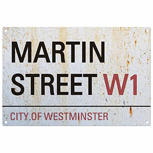 Personnalisée prénom Londres Road Sign: Martin Street