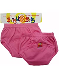 Bright Bots Potty Lot de 2 culottes d'apprentissage Rose Taille M