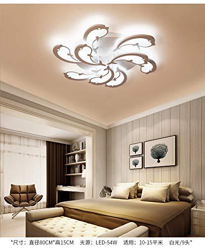 Kreative Kinderzimmer Deckenleuchte Moderne Minimalistische Led Wohnzimmer Schlafzimmer Buch Raumbeleuchtung Smart Home Fernbedienung Lampe 9 80 Cm weißes Licht - Bronze-neun-licht Kronleuchter