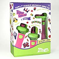 Quill On Super Fun Craft Motorized Multi-function Quilling Tool and Buddies to Coil, Crimp or Make Beads for Beginners-Experts, 8 Years (Pink)