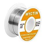wyctin 60–40estaño y plomo colofonia Core Solder alambre para tetera solderding y DIY 0.0315) (0,8mm) 0.11lbs