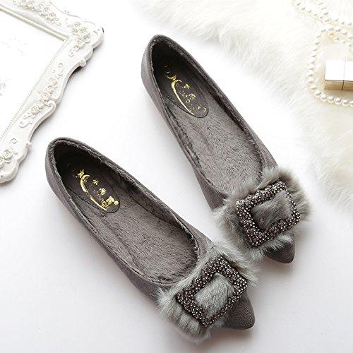 XAH@ Donne scarpe e lato cotone fibbia