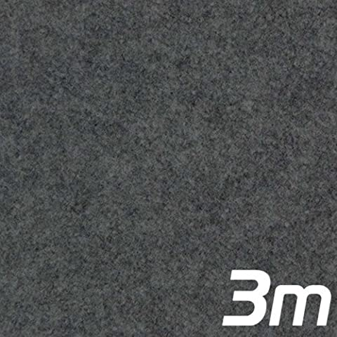 Grey Acoustic Subwoofer Box Carpet 3m x 1.35m
