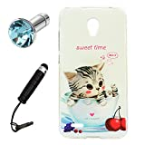 Lusee® Coque pour Alcatel Onetouch Go Play / 7048X 5.0 Housse Silicone temps doux