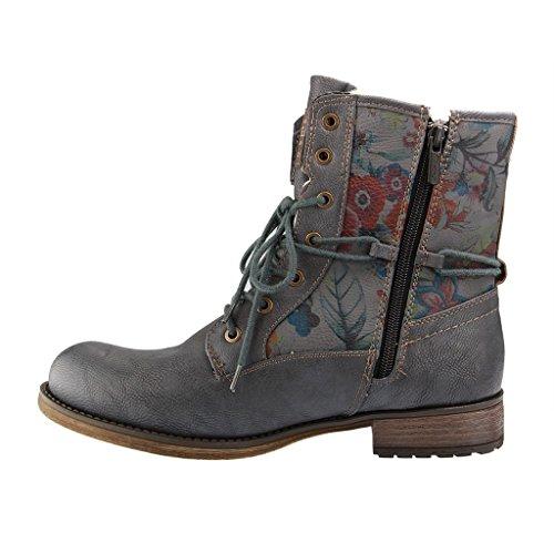 Mustang Damen 1139-631-873 Stiefel Blau/Grau