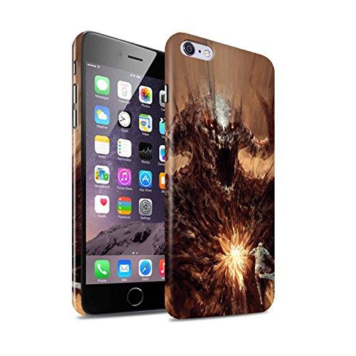 Offiziell Chris Cold Hülle / Glanz Snap-On Case für Apple iPhone 6+/Plus 5.5 / Vampirfledermaus Muster / Wilden Kreaturen Kollektion Herzensucher