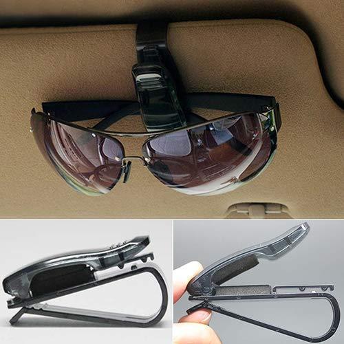 nieliangw0q Universal Auto Auto Fahrzeug Sonnenblende Brille Sonnenbrille Karte Ticket Halter Clip