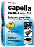 Capella Studio und Scan 2.0, CD-ROM Das innovative Notensatz-Studio mit integrierter Scan-Funktion. Für Windows XP/Vista/7