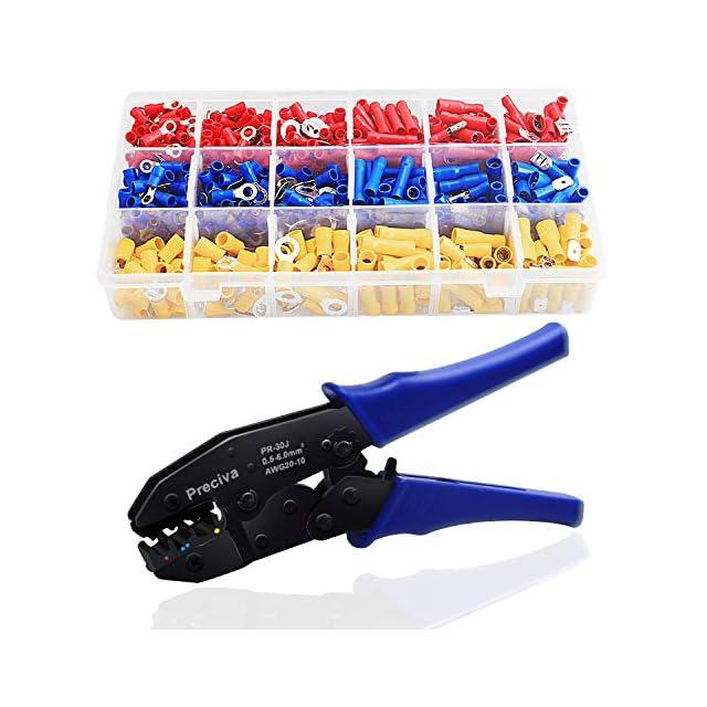 Pince à sertir 1200 cosses De Cable Isolée Set Outils Presser Embouts Sertissage