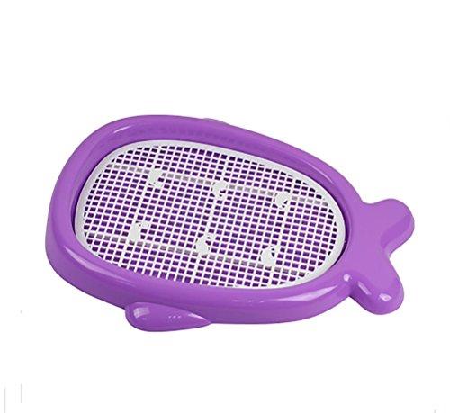 Artikelbild: DAN Hundetoilette Puppy Potty HundeWC Welpentoilette Puppy Loo , L , purple