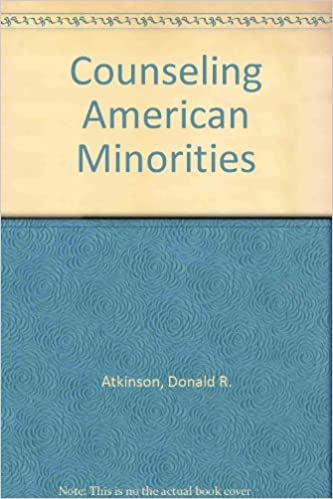 Counseling American Minorities