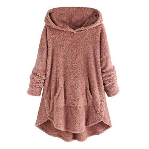 CLOOM Talla Grande Mujer Suéter Capucha