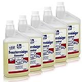 5x Dr. Becher Glas Reiniger Konzentrat 1 Liter