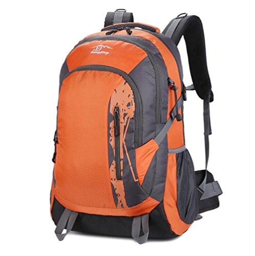 Wmshpeds Borsa a tracolla uomini marea coreano femminile casual sports computer zaino alpinismo outdoor bag borsa da viaggio B