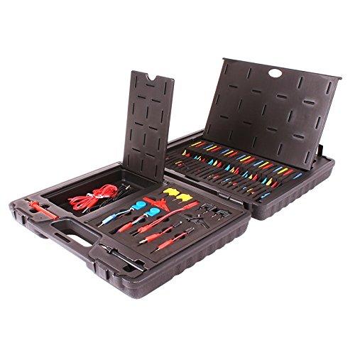 Universal Messkabel und Prüfspitzen Satz Messkabel Set 92-teilig Diagnose Prüfkabel Kfz Werkzeug Adapter Kabel
