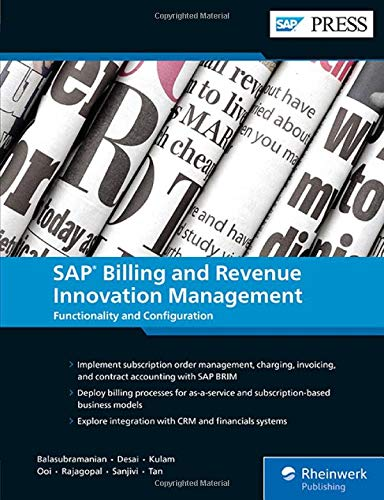 SAP Billing and Revenue Innovation Management: Functionality and Configuration