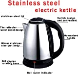 shopper 52 Stainless Steel Boiling Water Energy Saving Fast Electric Kettle (2 L, Multicolour)