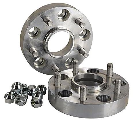 Hofmann Spurverbreiterung Aluminium 30mm pro Scheibe / 60mm pro Achse incl. Teilegutachten
