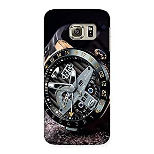 Watch Cool Multicolor Back Case Cover for Samsung Galaxy S6 Edge