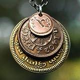 The Shire Post Señor de los Anillos Colgante Monedas de la Tierra Media, Multicolor (0722589572333)