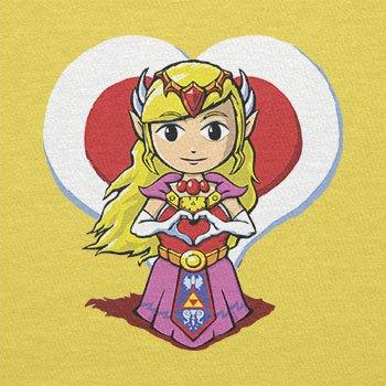 Texlab–Princess Love–sacchetto di stoffa Gelb