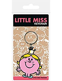 Pyramid International Little Miss Little Miss Princess Rubber Keychain, Multi-Colour, 4.5 x 6 cm