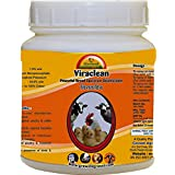 Growel Viraclean - Disinfectant for Poultry,Bird,Pets & Farm Animals - Disinfectant for Animal & Bird Spray (100 gm.)