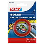 Tesa 56163-00003-00 isolieren Strom/6.000 V, PVC, isoliert, 10 m x 15 mm