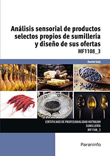 MF1108_3 - Análisis sensorial de productos selectos propios de ...
