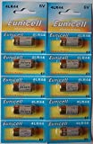 Eunicell 4LR44 10 Batteries Blister Pack Equivalent 4G13/L1325/A544/476A 6 V