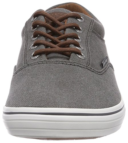 JACK & JONES JJVision Canvas Sneaker Pewter Herren Sneakers Grau (Pewter)