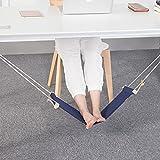 TOPmountain Tragbare Mini Büro Flug Fußstütze stehen Einstellbare Reise-Schlinge Startseite Tisch Schreibtisch Füße Hängematte Entspannen Sie sich in der Werkzeugausrüstung