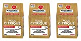 Maison Net Acide Citrique 500 g - Lot de 3