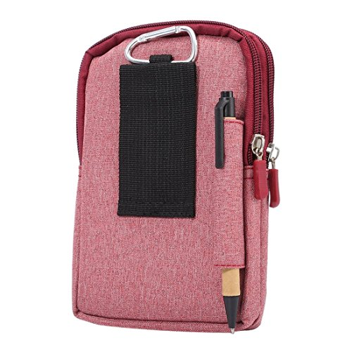 DFV mobile Universal Multifunctional Vertical Stripes Pouch Bag Case ...