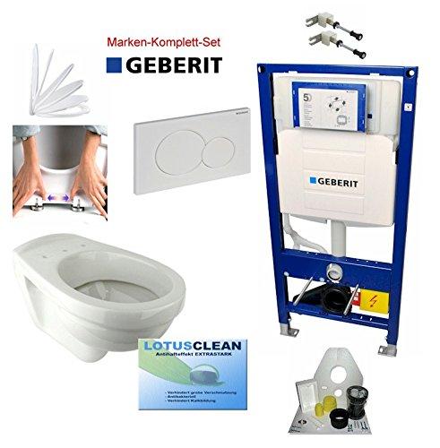Geberit Duofix Vorwandelement UP320, Gustavsberg WC, WC-Deckel