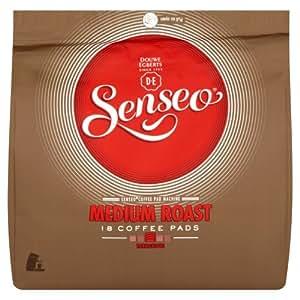 Douwe Egberts Senseo Medium Roast Coffee 18 Pads (Pack of 5, Total 90 Pods)