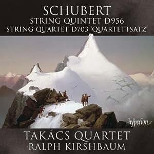 Schubert: String Quintet/ Quartet (Takács Quartet; Ralph Kirshbaum) (Hyperion: CDA67864)