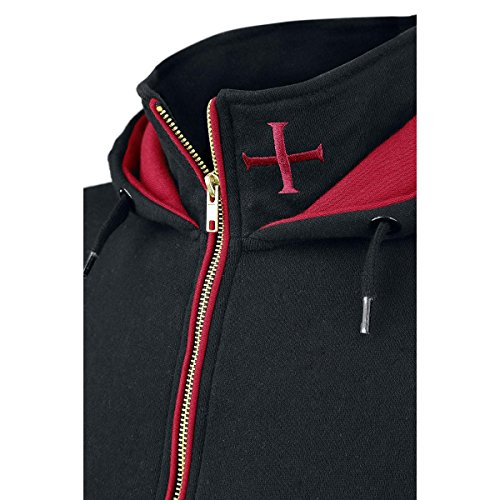 Assassins Creed Hoodie Rogue Größe XXL Kapuzenjacke Assassin's Creed Kapuzenpullover Zip Jacket 2XL Abbildung 3