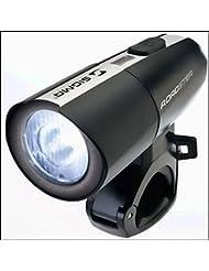 Sigma Roadster Lampe Batterielampe schwarz Scheinwerfer Leuchte
