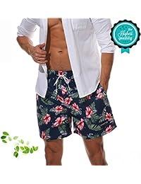 Amazon.es  bañadores hombre surferos - Bañadores   Ropa de baño  Ropa 7e1cf57896f
