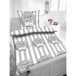 Kinder Bettwäsche Flanell Schaf Art: 2268