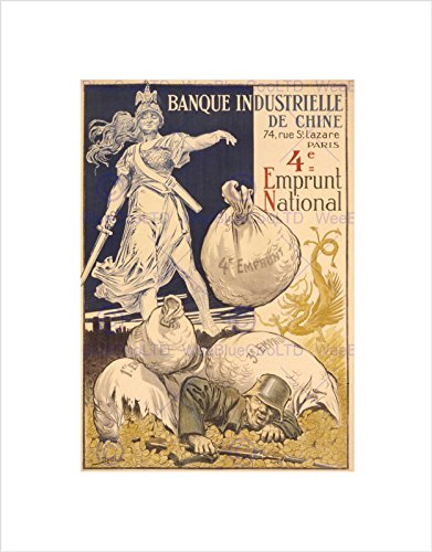 propaganda-war-bonds-bank-china-france-gold-framed-art-print-b12x7689