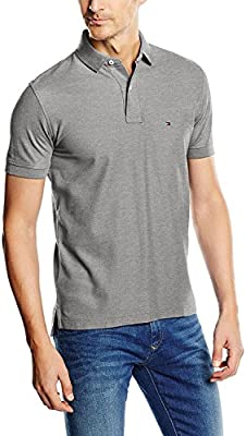 Tommy Hilfiger 50/2 Performance S/S Rf, Polo para Hombre